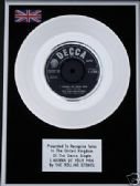 "THE ROLLING STONES-7""Platinum Disc I WANNA BE YOUR MAN"